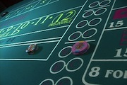 Cheques on Craps Table
