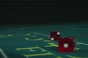 Craps Red Dice